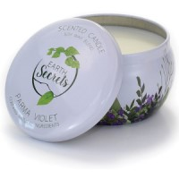 Earth Secrets - Scented Candle - Parma Violet