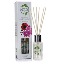 Earth Secrets - Reed Diffuser - Poppy & Pink Orchid
