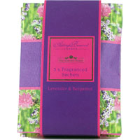 Ashleigh & Burwood - Fragranced Sachets - Lavender & Bergamot
