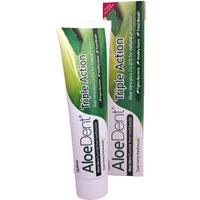 AloeDent - Triple Action Aloe Vera Fluoride Free Toothpaste