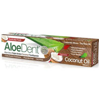 AloeDent - Aloe Vera Triple Action Coconut Toothpaste