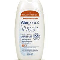 Allergenics - Wash Face & Body Shower Gel