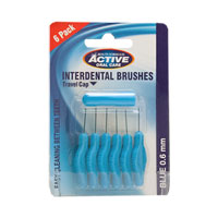 Active Oral Care - Interdental Brushes - 0.6mm