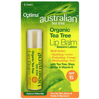 Australian Tea Tree - Organic Tea Tree Lip Balm - SPF 18