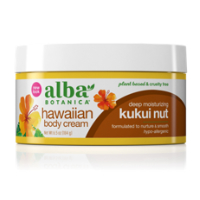 Alba Botanica Kukui Nut Body Cream