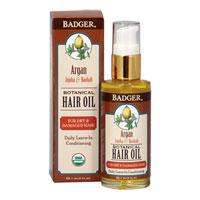 Badger - Argan, Jojoba & Baobab Botanical Hair Oil