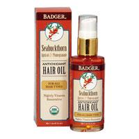 Badger - Seabuckthorn, Apricot & Pomegranate Hair Oil