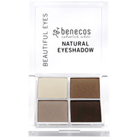 Benecos - Natural Quatro Eyeshadow - Coffee & Cream
