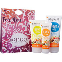 Benecos - Benecos Apricot & Elderflower Natural Care Gift Set
