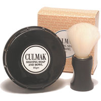 Culmak Shaving Soap and Bowl Gift Set