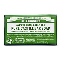 Dr. Bronner's - All-One Hemp Pure-Castile Bar Soap -  Green Tea