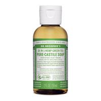 Dr. Bronner's - 18-in-1 Hemp Green Tea Pure Castile Soap