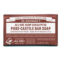 Dr. Bronner's - All-One Hemp Pure-Castile Bar Soap - Eucalyptus
