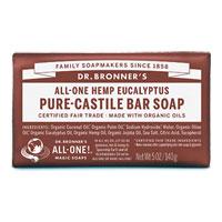 Dr. Bronner's - All-One Hemp Pure-Castile Bar Soap - Eucalyptus