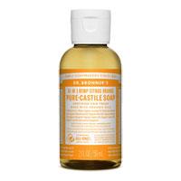 Dr. Bronner's - 18-in-1 Hemp Citrus Orange Pure Castile Soap