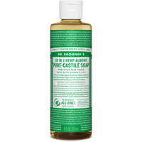 Dr. Bronner's - 18-in-1 Hemp Almond Pure Castile Soap