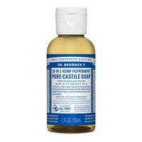 Dr. Bronner's - 18-in-1 Hemp Peppermint Pure Castile Soap