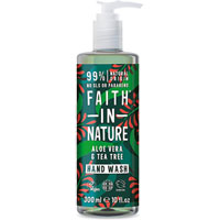 Faith In Nature - Aloe Vera & Tea Tree Hand Wash