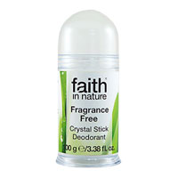 Faith In Nature - Crystal Stick Deodorant - Fragrance Free