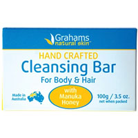 Grahams Natural - Manuka Honey Cleansing Bar