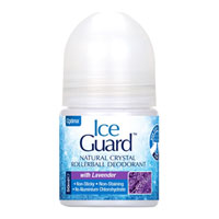 Ice Guard Natural Crystal Rollerball Deodorant - Lavender