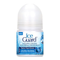 Ice Guard Natural Crystal Rollerball Deodorant - Unperfumed