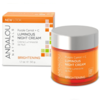 Andalou Naturals - Brightening Purple Carrot + C Luminous Night Cream