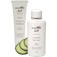 Martha Hill Camomile & Cucumber Cooling Summer Duo