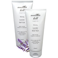 Martha Hill - Relaxing Lavender Bath Duo