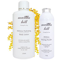 Martha Hill Mimosa Body Care Duo