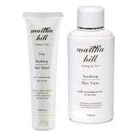 Martha Hill Soothing Skin Care Duo (Skin Relief & Tonic)