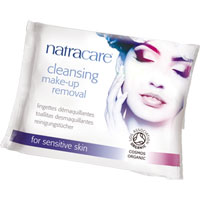 Natracare - Cleansing Make-up Removal Wipes