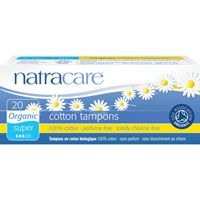 Natracare - Organic All Cotton Tampons - Super