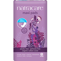 Natracare - Natural Maxi Pads - Super