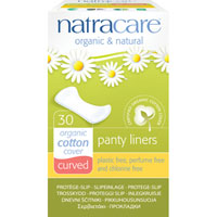 Natracare - Panty Liners - Curved