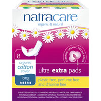 Natracare - Ultra Extra Pads - Long