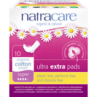 Natracare - Ultra Extra Pads - Super