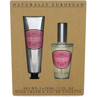 Naturally European - Rose Petal Hand Cream & Eau De Toilette