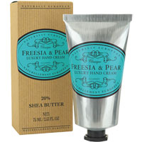 Naturally European Freesia & Pear Luxury Hand Cream