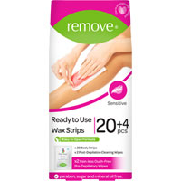 Remove - Ready To Use Body Wax Strips