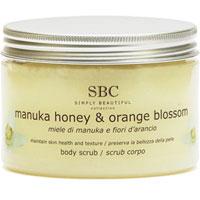 SBC - Manuka Honey & Orange Blossom Body Scrub