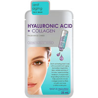 Skin Republic - Hyaluronic Acid + Collagen Face Mask Sheet
