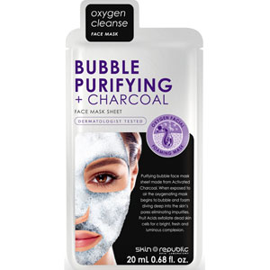 Bubble + Purifying + Charcoal Face Mask