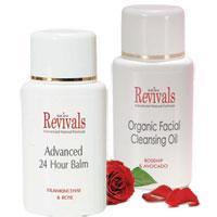 Skin Revivals - Skin Revivals Organic Facial Care Duo