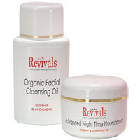 Skin Revivals Skin Revivals Organic Skin Care Duo (SR16 + SR17)