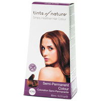 Tints of Nature - Semi-Permanent Hair Colour - 6CRD Copper Red