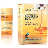 Wild Ferns - Manuka Honey Essentials Travel Pack